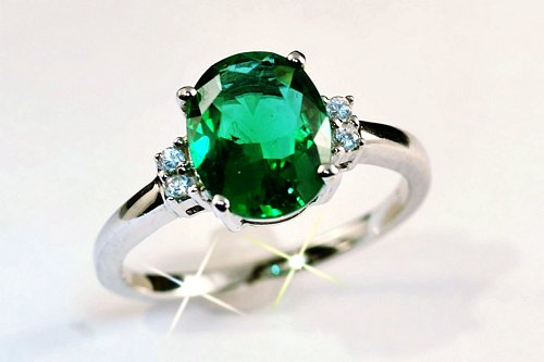 jewelry design product fashion detail cheap stone simple gold rose green latest rings plated
